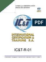 Ict-r-01 Reglamento de Certificacion