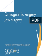 Orthognathic Surgery Jaw Surgery