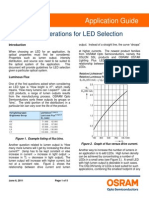 Optical Considerations for LED SelectionWEB