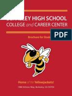 BHS Career Center Brochure