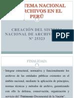 EL SISTEMA NACIONAL DE ARCHIVOS EN EL PERÚ.pptx