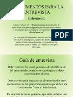 EXPOSICION INSTRUMENTOS PARA LA ENTREVISTA.pptx