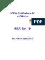 NEA 19