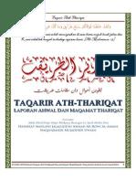 Taqarir Ath Thariqat