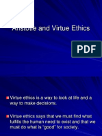 Aristotle and Virtue Ethics
