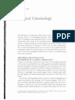 Classical Criminology