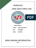 Makalah Cyber Crime Dan Cyber Law