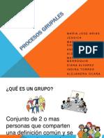 Expo Ps Social Procesos Grupales