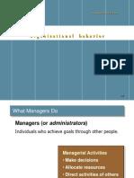 Organizatonal Behavior