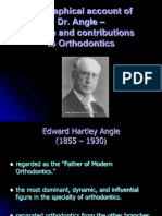 Biographical Account of Dr.angel - Ortho / orthodontic courses by Indian dental academy