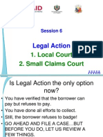 6_b Legal Action & Small Claims Court