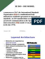 The Iso - Osi Model