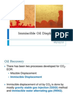 Immiscible Enhanced Oil Recovery