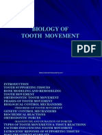 Biology of Tooth Movement --Ortho / orthodontic courses by Indian dental academy