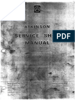 Atkinson Tractor Service Shop Manual Unit 0 - General