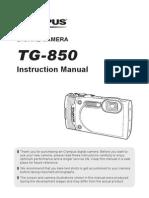 Olympus TG-850 Manual