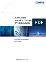 CAPA India Outlook FY14 Highlights