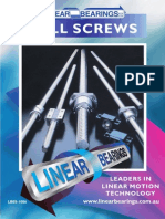 Ball Screw Catalogue