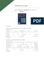 Ingeniería de Control Moderna 3 Ed