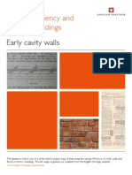 Early Cavity Walls
