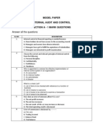 MF0004-Internal Audit and Control-Model Paper