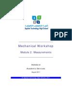 Atm-1022 Mechanical Workshop Module 2-1