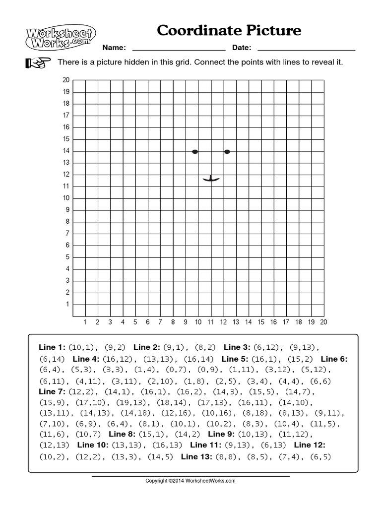 Uncategorized Worksheet Works.com worksheetworks coordinate picture 4 pdf