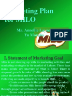 Milo Marketing Plan- by Abuden
