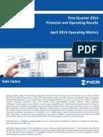FXCM Q1 2014 Earnings Presentation