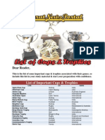 Cups & Trophies