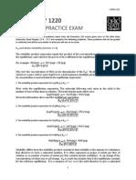 Chapter 17 Exam