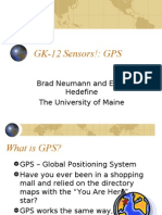 GK-12 Sensors!