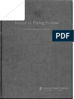 Design of Piping Systems Mw Kellogg