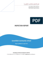 KHDA Inspection Report - GreenField Community School