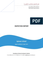 KHDA Inspection Report - Uptown School