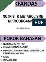 Nutrisi & Metabolisme Mo