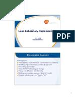 Lean Laboratory Implementation - Ivy Leung