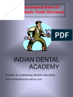 Biomech of Tooth Movemnt-Ortho / orthodontic courses by Indian dental academy