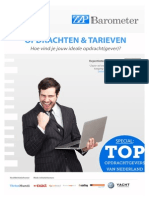 "ZZP Barometer - themarapport ""Opdrachten & tarieven"""