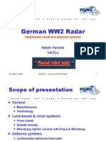 German Radar