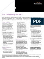 What is a Traineeship?