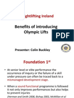 3 Weightlifting Ireland Why We Use Olympic Lifts Lift