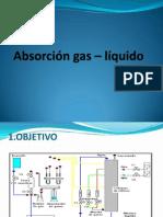 Absorción Gas – Líquido