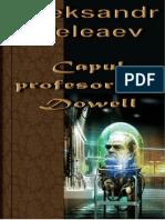 Aleksandr Beleaev - Capul Profesorului Dowell