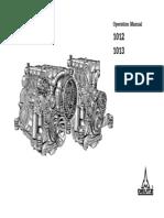 Deutz 1012 1013 Operation and Maintenance Manual