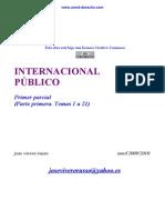 Dch. Int. Publico. 1º Parcial