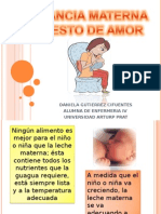 Educacion de Lactancia Materna