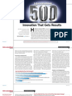 Informationweek 500 Innovation That Gets Results 8092399