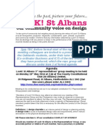 Look St Albans Agenda for the Reps Group Meeting on Monday 19th May 2014