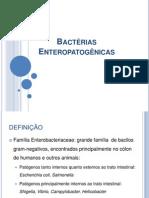 Aula10_Bactérias Enteropatogênicas